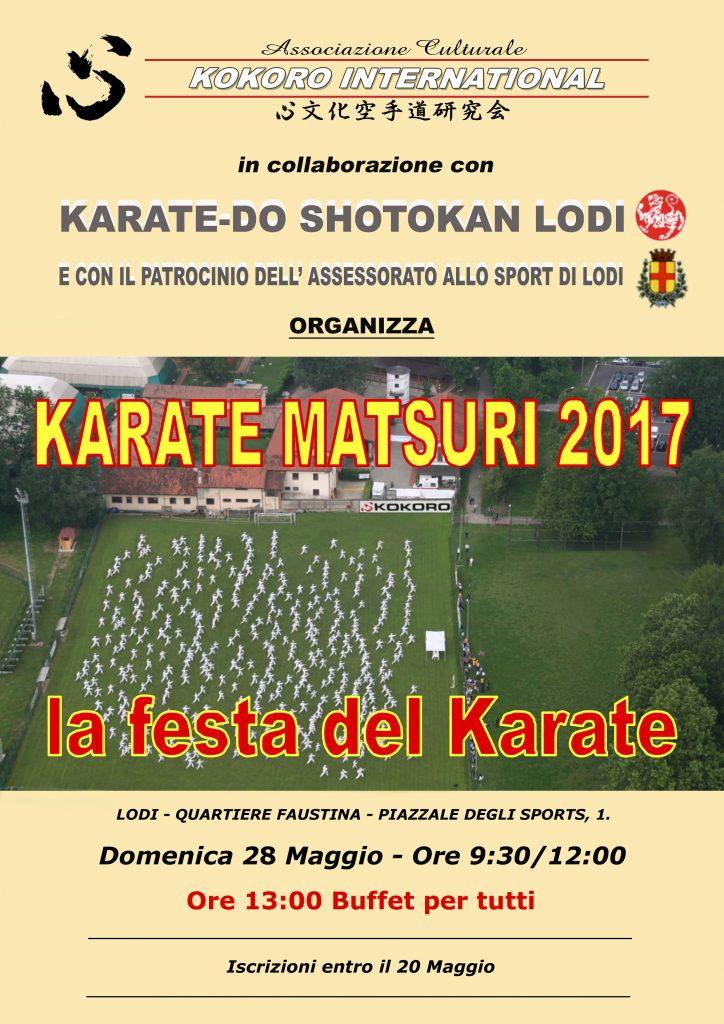 Matsuri Karatedo Kunren 2017