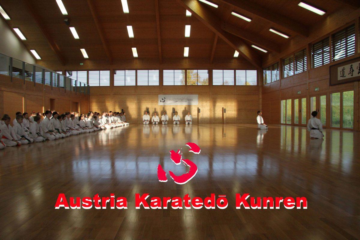 Austria Karatedo Kunren 2018