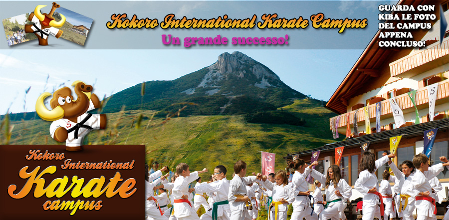 Kokoro International Karate Campus 2017: Le foto del Campus appena concluso