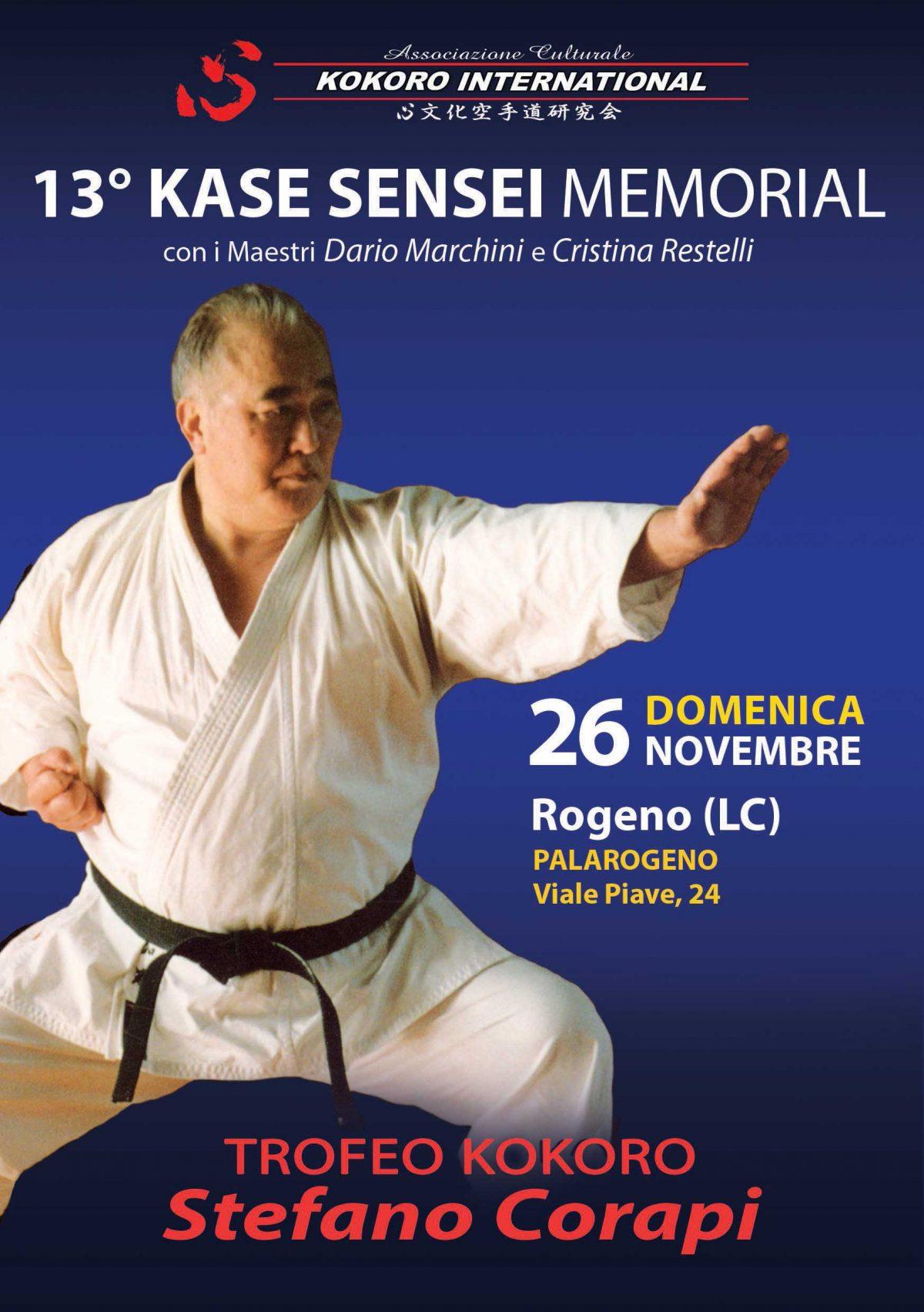 Kase Sensei Memorial 2017