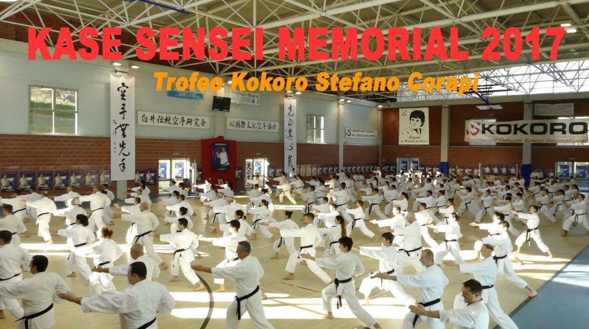 Kase Sensei Memorial 2017: Un grande successo!