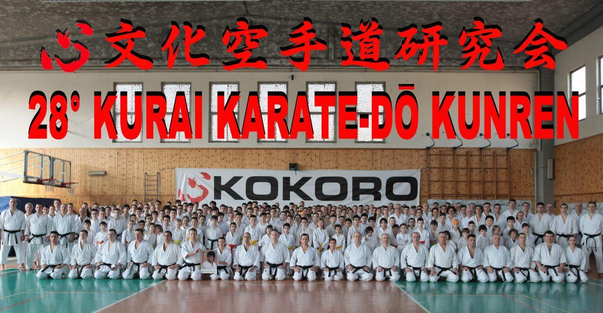 Kurai Karatedo Kunren 2018: Un grande successo!
