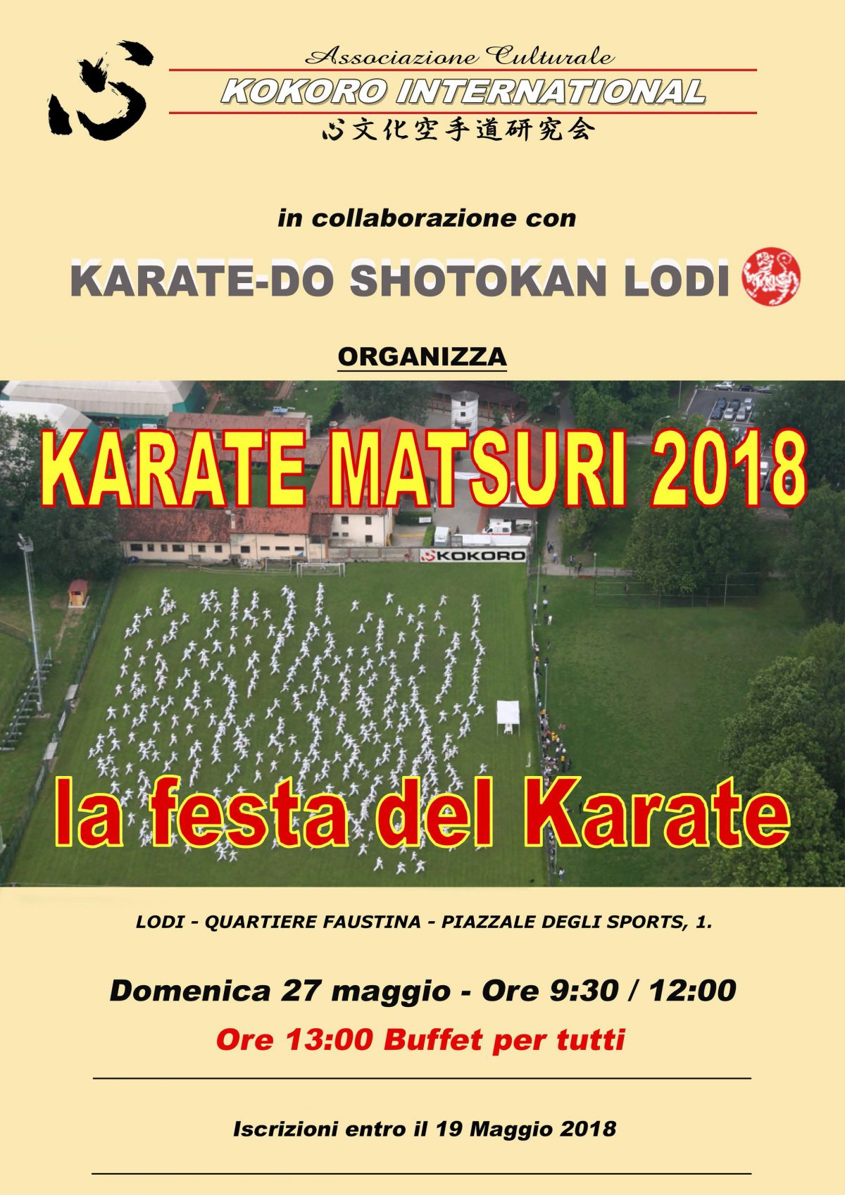 Matsuri Karatedo Kunren 2018
