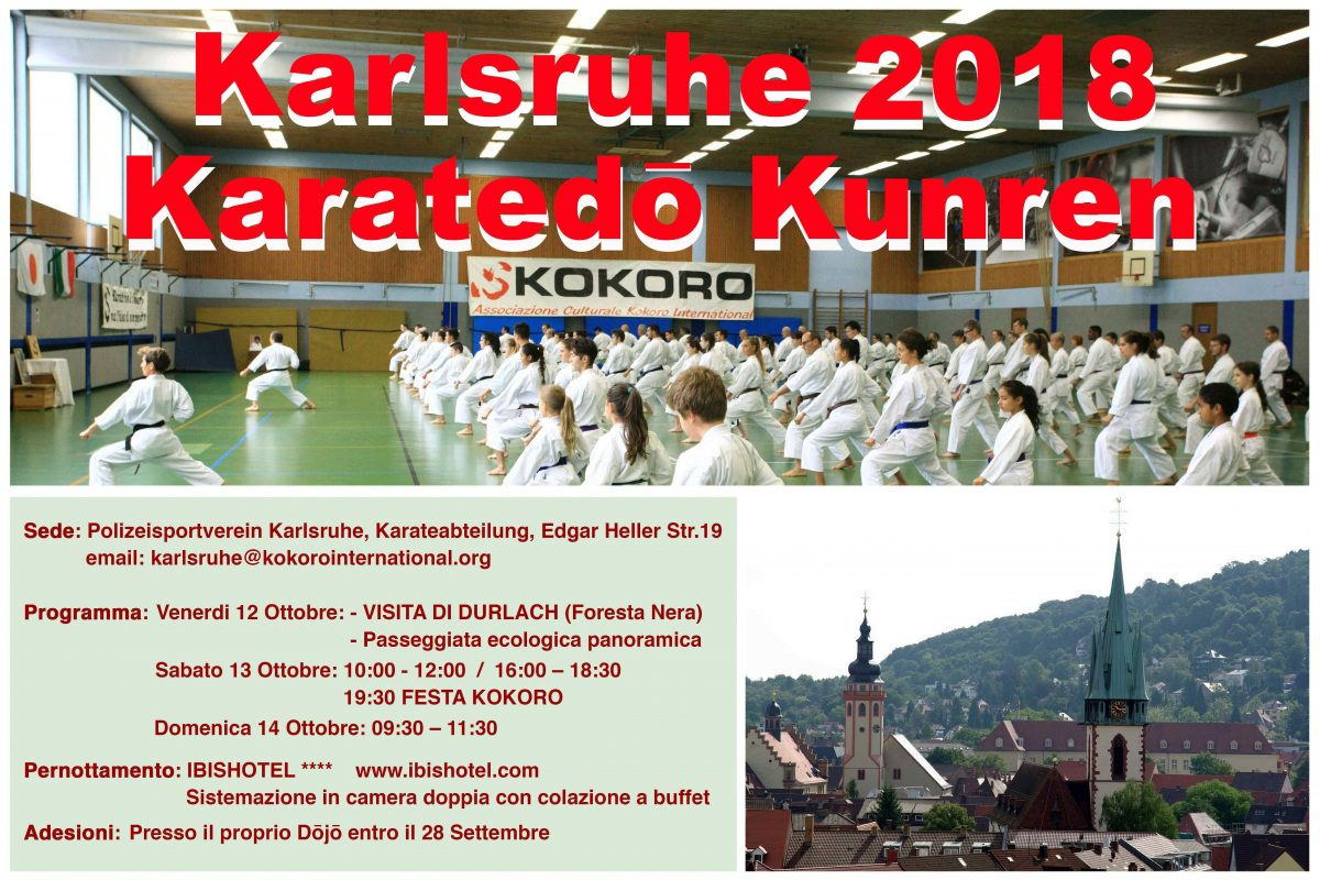 Germany Karatedo Kunren 2018