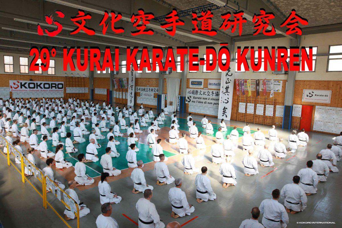 Kurai Karatedo Kunren 2019: Un grande successo!