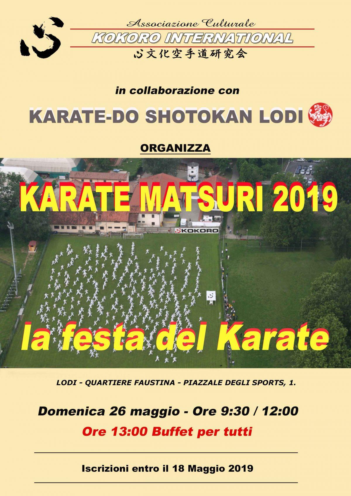 Matsuri Karatedo Kunren 2019