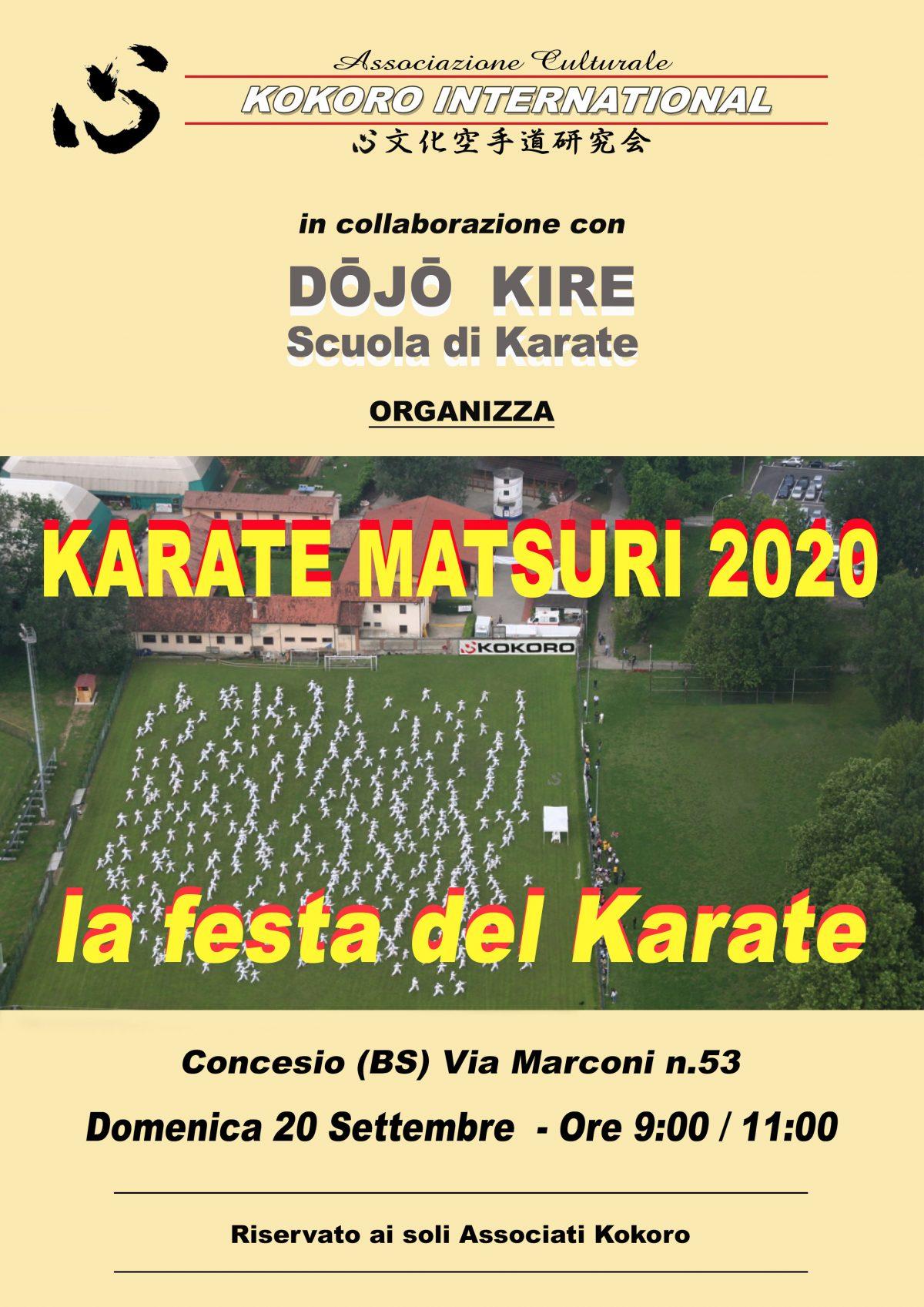 Matsuri Karatedo Kunren 2020